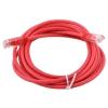 кабель (шнур) Aopen UTP кат. 5е, красный