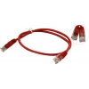 Aopen  UTP 4 пары кат 5E 0.5м, красный, купить за 90руб.
