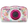 Цифровой фотоаппарат Nikon Coolpix W150 (VQA113K001) цветы, купить за 10 605руб.