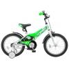 """Велосипед Stels 16"""" Jet Z010 (LU087403) Белый/Салатовый, купить за 4 320руб."""