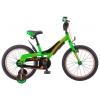 """Велосипед Stels 18"""" Pilot 180 (LU089096) черный/зеленый, купить за 10 535руб."""
