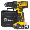Дрель KOLNER KCD 14,4/2LC, аккумуляторная, купить за 3500руб.