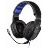 Наушники Hama uRage SoundZ 310 с микрофоном, черно-серые, купить за 2445руб.