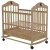 Детская кроватка Briciola 7 колесо-качалка авт. с ящиком - светлая, купить за 8 495руб.