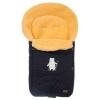 Конверт для новорожденного меховой Nuovita Tundra Pesco, черный, купить за 3 699руб.