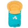 Конверт для новорожденного меховой Nuovita Tundra Pesco, голубой, купить за 3 699руб.