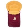 Конверт для новорожденного меховой Nuovita Tundra Pesco, бордовый, купить за 3 699руб.