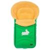 Конверт для новорожденного меховой Nuovita Tundra Pesco, изумрудный, купить за 3 699руб.