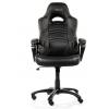 Игровое компьютерное кресло Arozzi Enzo, чёрное, купить за 13 125руб.