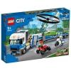 Конструктор LEGO Город Полицейский вертолётный транспорт (60244), купить за 3 240руб.