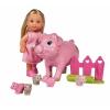 Кукла Simba Еви со свинкой и поросятами, 12 см, 5733337 (пластик), купить за 1 190руб.