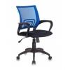 Кресло офисное Бюрократ CH-695N/BL/TW-11 сине-черное, купить за 3 190руб.