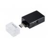 Usb-концентратор Hama USB-C Pocket (00135752) черный, купить за 525руб.
