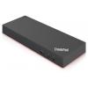 Док-станцию для ноутбука Lenovo ThinkPad Thunderbolt 3 (40AN0135EU), черный, купить за 27 090руб.