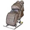 Санки-коляска GALAXY Kids-3-2-С, бронзовая, купить за 5 640руб.