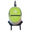 Рюкзак городской Globber 524-106  для самокатов Junior Lime Green, купить за 785руб.