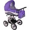 Коляска Lonex Julia Baronessa (2 в 1) New JBN-13, фиолетовая, купить за 18 950руб.