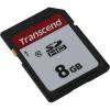 Карту памяти Transcend 8GB SDHC (TS8GSDC300S) Class 10, купить за 485руб.