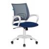 Кресло офисное Бюрократ CH-W695N/DB/TW-10N темно-синий TW-05N TW-10N сетка/ткань (пластик белый), купить за 3 850руб.