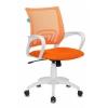 Кресло офисное Бюрократ CH-W695N/OR/TW-96-1 оранжевый TW-38-3 TW-96-1 (пластик белый), купить за 3 850руб.