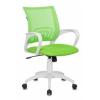 Кресло офисное Бюрократ CH-W695N/SD/TW-18 салатовый TW-03A TW-18 сетка/ткань (пластик белый), купить за 3 850руб.