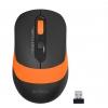 Мышь A4Tech Fstyler FG10 черная/оранжевая, купить за 670руб.
