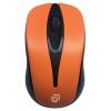 Мышка Oklick 675MW оптическая (800dpi) беспроводная USB (2but) черно-оранжевая, купить за 240руб.