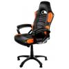 Игровое компьютерное кресло Arozzi Enzo, черно-оранжевое, купить за 13 125руб.