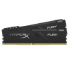Модуль памяти Kingston DDR4 16Gb 3733MHz 2*8Gb HyperX FURY Black HX437C19FB3K2/16, купить за 7950 руб.