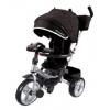 Трехколесный велосипед Moby Kids New Leader 360° 12x10 AIR Car  черный, купить за 10 480руб.