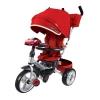 Трехколесный велосипед Moby Kids New 360 12x10 AIR Car, бордовый, купить за 10 280руб.