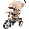 Трехколесный велосипед Moby Kids New 360 12x10 AIR Car, бежевый, купить за 10 280руб.