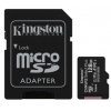 Карту памяти Kingston MicroSDXC SDCS2/128GB SecureDigital  Class 10 UHS-I, SD adapter, купить за 1380 руб.
