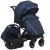 Коляску Bino Angel Comfort (прогулочная), темно-синий, купить за 10 090руб.
