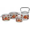 Набор посуды для готовки СтальЭмаль 1с142/1 (4 предмета), купить за 2 295руб.