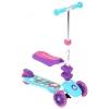 Трехколесный самокат CAPELLA 3-GL000568105 PUPPY бирюз+фиолет, купить за 3 770руб.