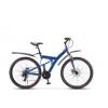 """Велосипед Stels Focus 27,5"""" MD 21 sp V010 Синий/неоновыйкрасный, купить за 13 505руб."""
