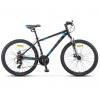 "Велосипед Stels Navigator-500 MD 26"""" F010*LU092624*LU085187 Серебристый/синий, купить за 12 410руб."