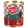 Бакалейный товар Фасоль Фрау Марта красная в томатном соусе 310 г, купить за 45руб.