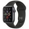 Умные часы Apple Watch 5 40mm GPS Space Grey Aluminium Case with Black Sport Band (MWV82RU/A), купить за 32 990руб.