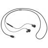 Гарнитуру проводную для телефона Samsung EO-IC100  черная, купить за 1375руб.