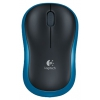 Logitech Wireless Mouse M185 Blue-Black USB, ������ �� 2 180 ���.