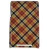 ����� ��� ��������� ������ E-cell BEIGE PINK PLAID PATTERN HARD BACK CASE COVER