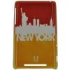 ����� ��� ��������� ������ E-cell NEW YORK SILHOUETTE SKYLINE DESIGN GLOSSY CASE