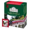 Чай Ahmad Tea English Breakfast, пакетики с ярлычками в конвертах 100х2г, купить за 245руб.