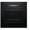 Духовой шкаф Bosch HBG537EB0R  черный, купить за 28 800руб.