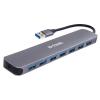 USB концентратор Разветвитель D-Link DUB-1370/B1A, черный, купить за 2 480руб.