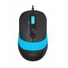 Мышь A4 FStyler FM10 черно-синяя, купить за 390руб.