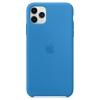 Чехол для смартфона Apple Silicone Case для iPhone 11 Pro Max (MY1J2ZM/A) синяя волна, купить за 3750руб.