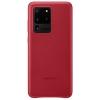 Чехол для смартфона Samsung для Samsung Galaxy S20 Ultra Leather Cover красный (EF-VG988LREGRU), купить за 2580руб.